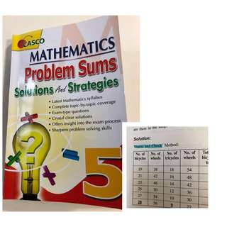 P5 Maths Problem Sums Solutions and Strategies