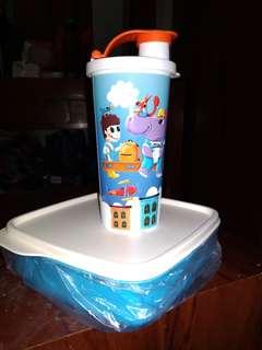 lolly tup set fun thumbler tupperware