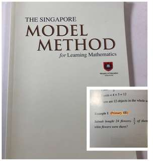 Model method - learn Maths book