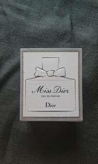 Miss Dior Eau de Parfum 30ml brand new in box 香水 全新未開封