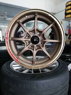 Mugen mf8 15 inch sports rim jazz city vios
