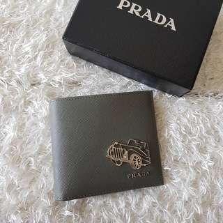 Authentic PRADA Saffiano Bi Fold Men's Wallet