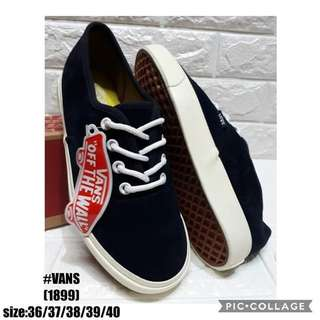 Vans Shoes Size 36 to 40 P1200