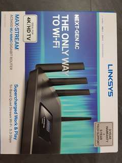 WTS Linksys EA9500 router