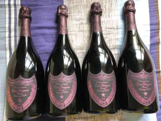 Don Perignon rose 2004 x 4