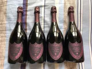 Dom Perignon rose 2005 x 4