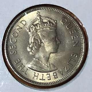 MBB 1961 QEII 20 Cents