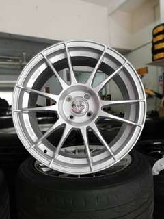 Oz ultraleggera 17 inch sports rim ford fiesta alza swift *rim baru jual murah*