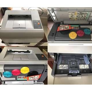 Used Sumsung CLP 300 color laser printer