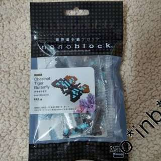 全新 Nanoblock IST_008 Tiger Butterfly 老虎蝴蝶 kawada 積木 收藏 (微型 Lego)