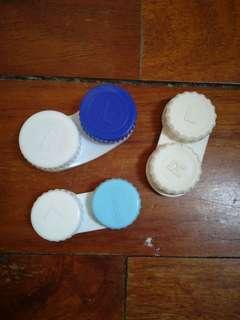 Lot of 3 Contact Lense Case
