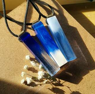 Blue mytic necklace