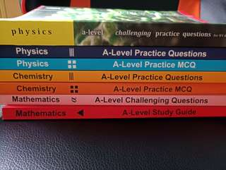 A levels books