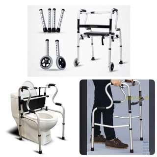 Simply Sale -Premium Walking Toilet Support + wheels