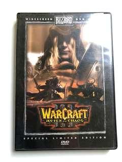 Warcraft III Reign of Chaos DVD