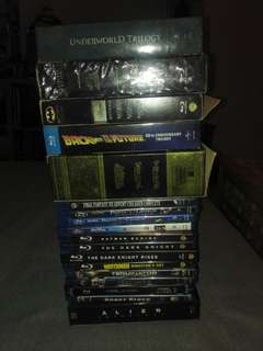 [USED] Blu Ray Movies and Boxset for sale