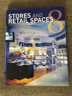 Stores and retail space hardcover book