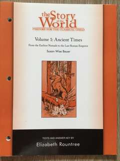 The Story of the World Book 1 Tests and answers