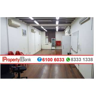 Fitted Shophouse Office with attractive rent at Kreta Ayer