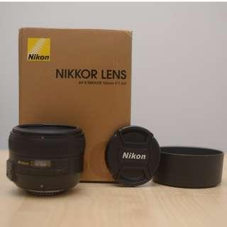 Nikon AF-S Nikkor 50mm 1:1.4G