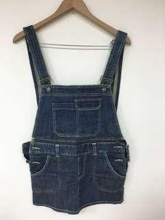 🚚 專櫃日系品牌nuee 背心連身牛仔裙 #女裝半價拉