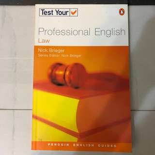 Test Your Professional English: Law