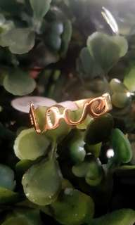 Love Stainless Ring Size 9
