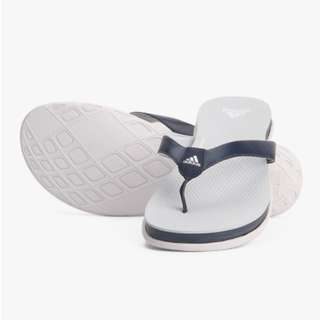 Adidas Supercloud Plus Thong Navy Blue Flip Flops Slip on