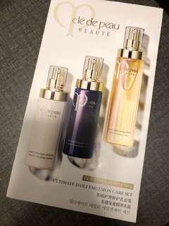Cle De Peau ultimate daily emulsion care set 基礎保養精華乳組合