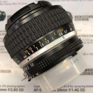 Nikon 50mm F1.2 AIS