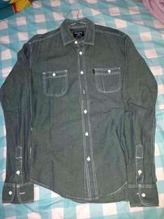 Kemeja Chambray Travis, not zara, h&m, pmp