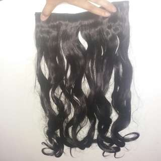 Long Curled Wig