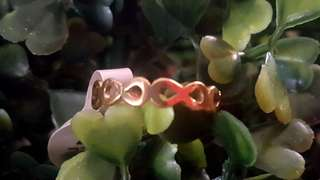 Infinity Stainless Ring Size 7