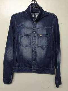 Denim Jacket for Men small size (Caterpillar) slim fit