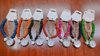 Fashion bracelet watch