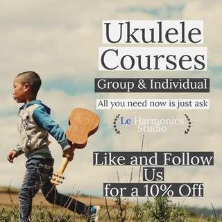Cheap & Professional Ukulele Lessons