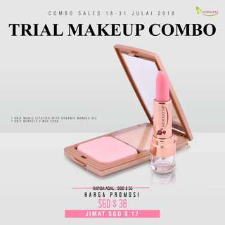 🚚 Trial Make up Combo