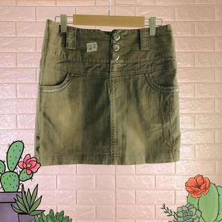 Denim Skirt 27in-12