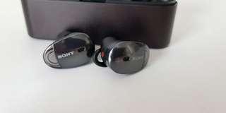 Sony WF-1000X Wireless Noise Cancelling Earphones