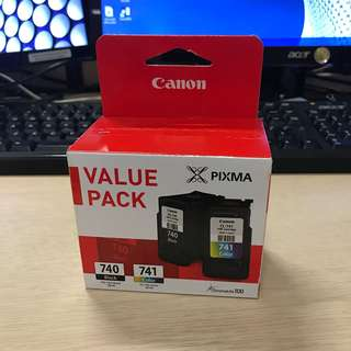 Canon Pixma 740 & 741 Ink Cartridge