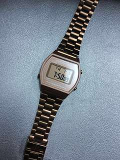 (REDUCED PRICE) Casio Vintage Women's Rose Gold Stainless Steel