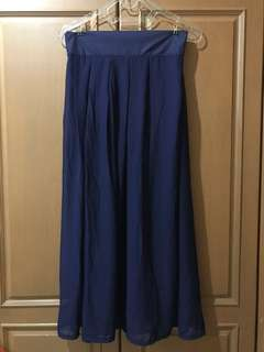 NEW Maxi Skirt - Biru