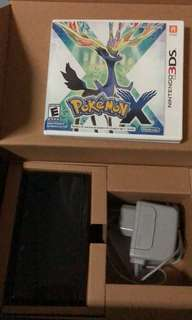 Nintendo 3DS + Game(Pokemon)