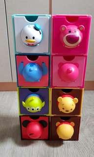 7-11 Tsum Tsum Cube Drawer