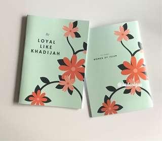 """""""Be Loyal Like Khadijah"""" A5 Notebook"""