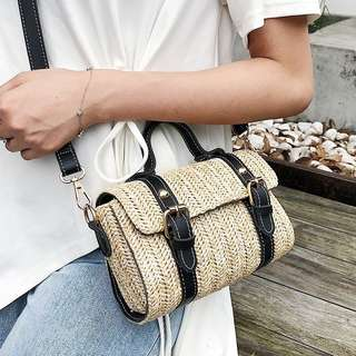 Buckle bamboo bag [Pre-Order]