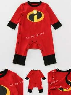 《日本直送》Incredibles 2 超人特攻隊2 Jack Jack 連身衣 禮物