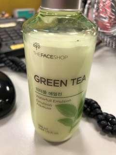 Repriced! The Face Shop Green Tea Emulsion