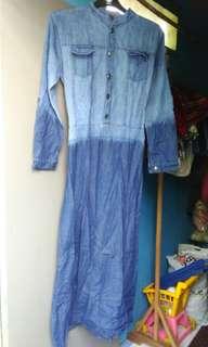 Muslim jeans maxi