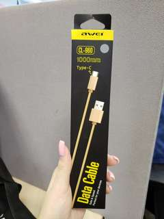 Awei Type C Data Cable